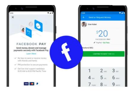 Facebook Pay Setup – Sending Money via Facebook Pay to Cash App Android & iOS