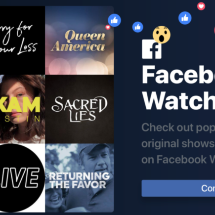 Facebook Watch TV Network Portal - Streaming Apps & Devices